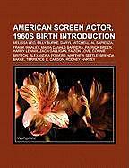 Kartonierter Einband American screen actor, 1960s birth Introduction von