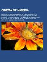 Kartonierter Einband Cinema of Nigeria von