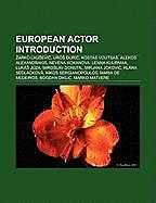 Kartonierter Einband European actor Introduction von