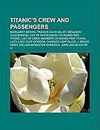 Kartonierter Einband Titanic's crew and passengers von