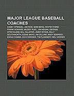 Kartonierter Einband Major League Baseball coaches von