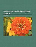 Kartonierter Einband Universities and colleges in France von