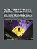 Kartonierter Einband People from Monmouthshire von