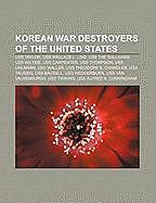 Kartonierter Einband Korean War destroyers of the United States von