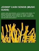 Kartonierter Einband Johnny Cash songs (Music Guide) von