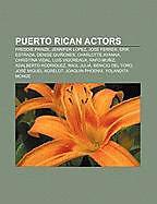 Kartonierter Einband Puerto Rican actors von