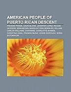Kartonierter Einband American people of Puerto Rican descent von