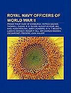 Kartonierter Einband Royal Navy officers of World War II von
