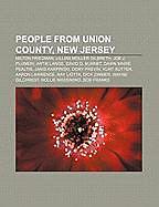 Kartonierter Einband People from Union County, New Jersey von