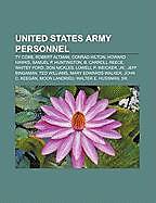 Kartonierter Einband United States Army personnel von