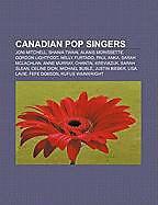 Kartonierter Einband Canadian pop singers von