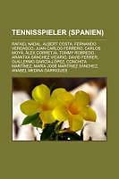 Kartonierter Einband Tennisspieler (Spanien) von