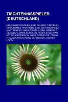 Kartonierter Einband Tischtennisspieler (Deutschland) von