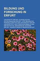 Kartonierter Einband Bildung Und Forschung in Erfurt von