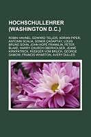 Kartonierter Einband Hochschullehrer (Washington D.c.) von