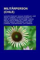 Kartonierter Einband Militärperson (Chile) von