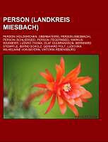 Kartonierter Einband Person (Landkreis Miesbach) von