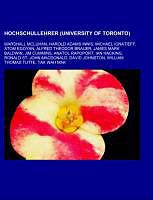 Kartonierter Einband Hochschullehrer (University of Toronto) von