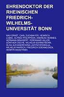 Kartonierter Einband Ehrendoktor der Rheinischen Friedrich-Wilhelms-Universität Bonn von