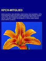 Kartonierter Einband KPCh-Mitglied von