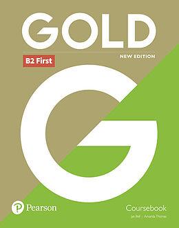 Broschiert Gold B2 First Coursebook von Jan; Thomas, Amanda Bell
