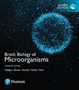 Kartonierter Einband Brock Biology of Microorganisms, Global Edition von Michael T. Madigan, Kelly S. Bender, Daniel H. Buckley