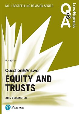 E-Book (pdf) Law Express Question and Answer: Equity and Trusts PDF eBook von John Duddington
