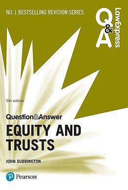 E-Book (epub) Law Express Question and Answer: Equity and Trusts ePub von John Duddington
