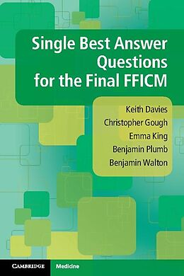eBook (epub) Single Best Answer Questions for the Final FFICM de Keith Davies