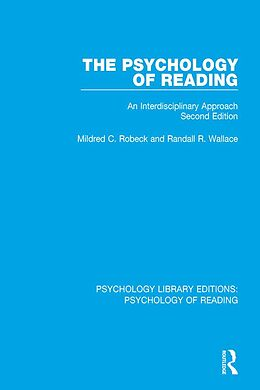 E-Book (pdf) The Psychology of Reading von Mildred C. Robeck, Randall R. Wallace