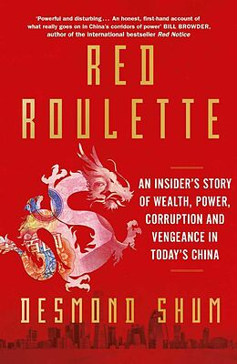Kartonierter Einband Red Roulette von Desmond Shum
