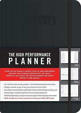 Broschiert High Performance Planner von Brendon Burchard