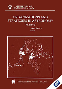 E-Book (pdf) Organizations and Strategies in Astronomy von