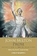 Fester Einband John Milton Prose von John Milton