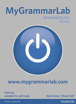 Broché MyGrammarLab intermediate B1-B2 : with key de Diane; Foley, Mark Hall