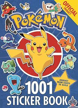 Kartonierter Einband The Official Pokémon 1001 Sticker Book von Pokémon