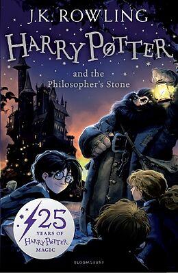 Kartonierter Einband Harry Potter and the Philosopher's Stone von J.K. Rowling