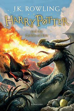 Kartonierter Einband Harry Potter and the Goblet of Fire von J.K. Rowling