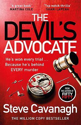 eBook (epub) Devil's Advocate de Steve Cavanagh