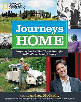 Fester Einband Journeys Home von Andrew Mccarthy