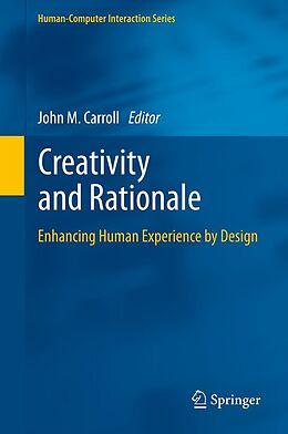 E-Book (pdf) Creativity and Rationale von John M. Carroll