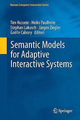 E-Book (pdf) Semantic Models for Adaptive Interactive Systems von