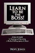 Kartonierter Einband Learn To Be The Boss! von Hope Jones