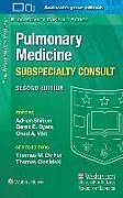 Kartonierter Einband The Washington Manual Pulmonary Medicine Subspecialty Consult von Adrian Shifren, Derek E., MD, PhD Byers, Chad A., MD Witt