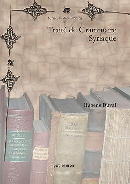 eBook (pdf) Traité de Grammaire Syriaque de M. Rubens Duval