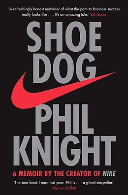 Kartonierter Einband Shoe Dog von Phil Knight