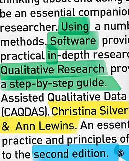 E-Book (epub) Using Software in Qualitative Research von Christina Silver, Ann Lewins
