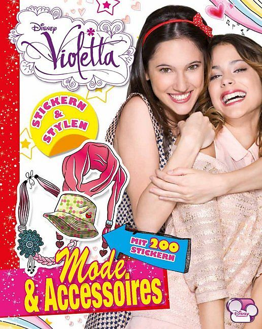 Violetta Sticker Buch