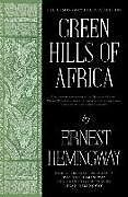 Fester Einband Green Hills of Africa von Ernest Hemingway