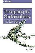 Kartonierter Einband Designing for Sustainability von Tim Frick